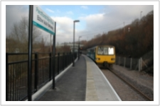 Ebbw Vale Parkway Station. Just 55 Minutes To Cardiff Central